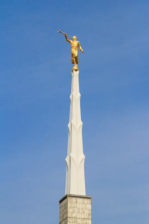 Dallas Texas Temple Moroni