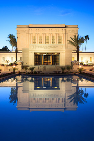 Mesa Arizona Temple at Sunrise