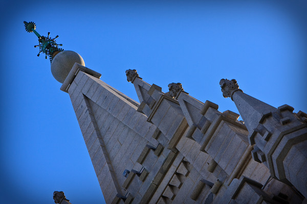 Salt Lake City Temple Spires