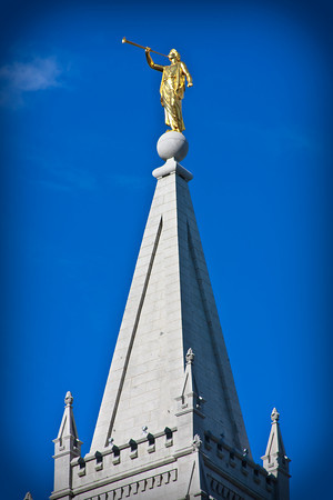 Salt Lake Temple Angel Moroni