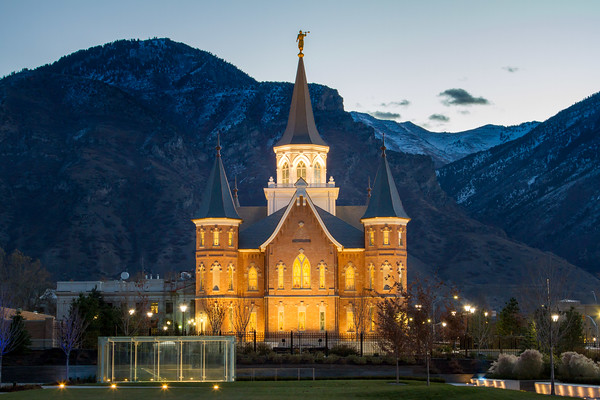 Provo City Center Temple at Sunrise