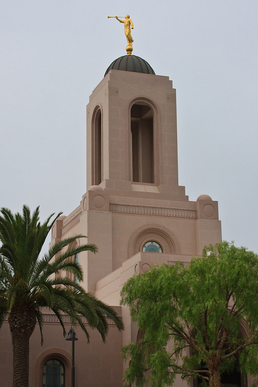 Newport Beach Temple spire