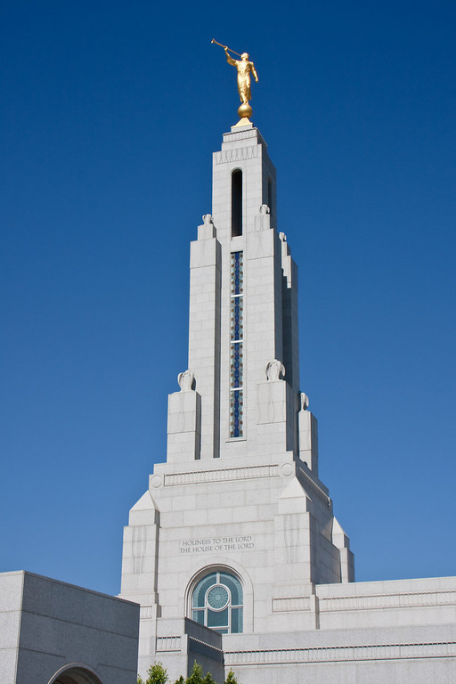 Redlands Temple spire